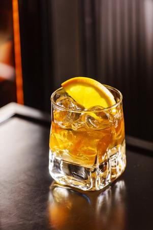 tipple: cocktail wiht orange