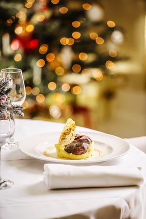 potato tree: Christmas dinner
