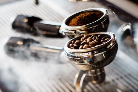 coffee maker machine: coffee maker machine Stock Photo