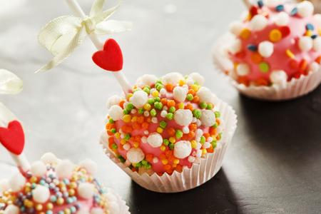 cake pops: cake pops Stock Photo