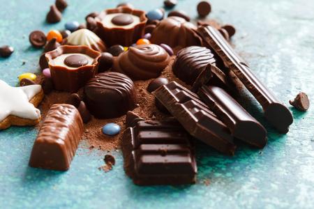 chocolate candy: chocolate sweets
