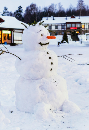 stovepipe: funny snowman