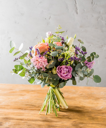 arrangements: spring bouquet