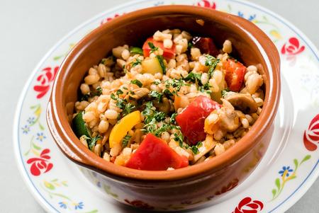 cebada: cocina vegetariana