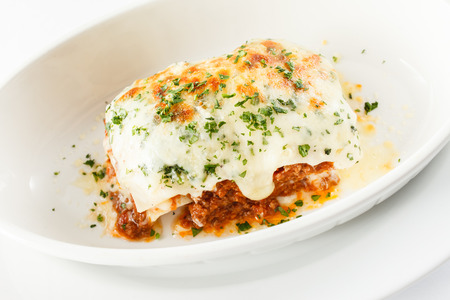 Italian lasagna Stock Photo