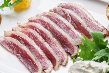 non vegetarian: meat appetizer