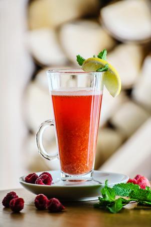 alimentos y bebidas: bebida de invierno  Foto de archivo