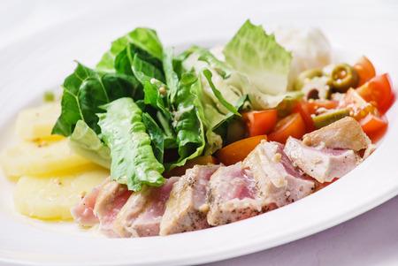 appetizer: meat appetizer
