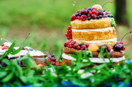Hochzeitstorte Standard-Bild - 54133394