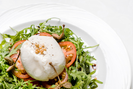 poached: salad with poached egg