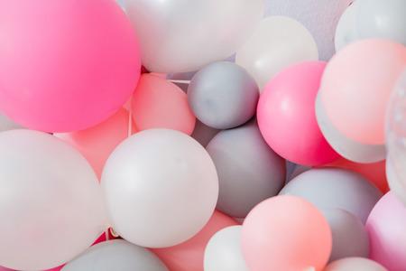 multicolor ballons Stok Fotoğraf