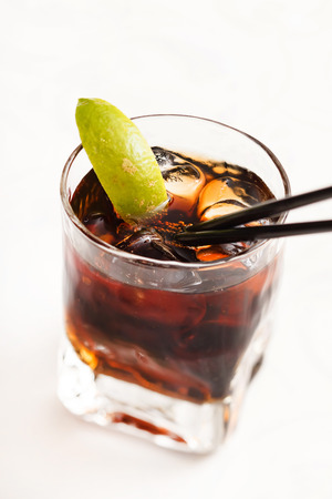 rum: cocktail with rum Stock Photo
