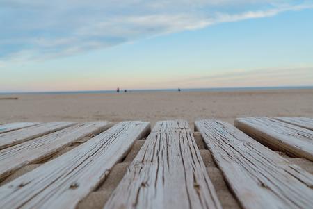 Suelos de madera o en la playa Foto de archivo - 55929954