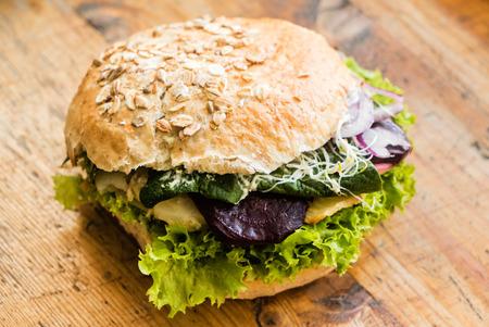 substitution: vegan burger