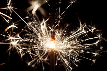 sparklet: sparkler on black