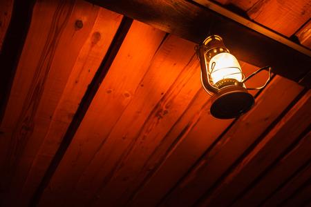 kerosene: old kerosene lantern