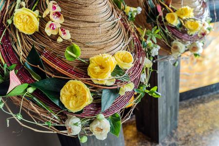 floristic: floristic composition in hte hotel