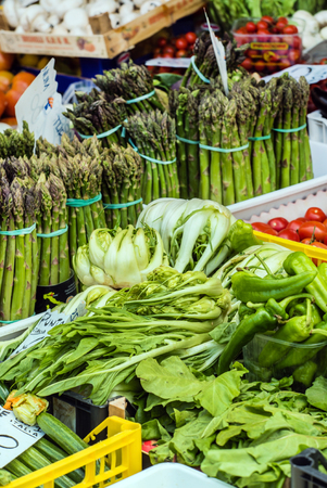 the merchant of venice: Fresh fruits and vegetables for sale