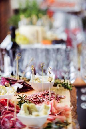 케이터링 테이블