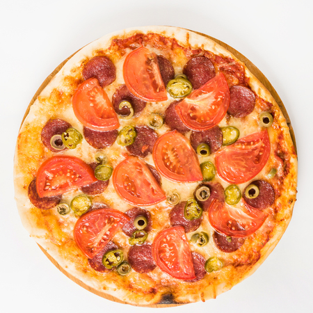 meat lover: tasty pizza