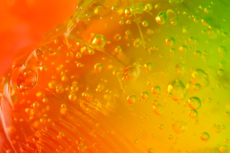 colorant: jelly background Stock Photo