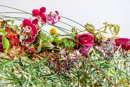 composition: floral composition