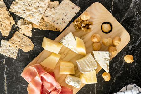 tabla de quesos: vino y queso