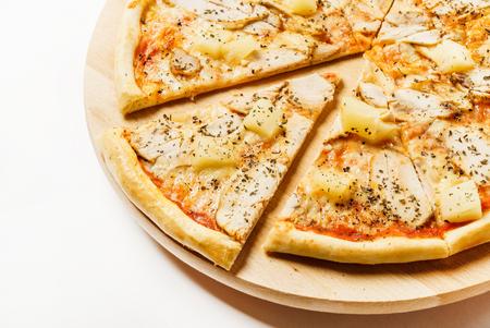 tasty pizza Banco de Imagens - 128518938