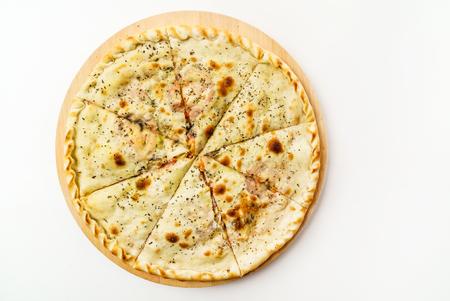 calzone pizza Foto de archivo - 128518971