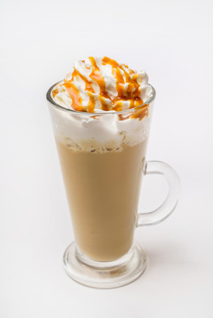latte macchiato coffee Stock Photo