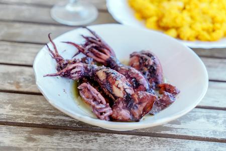spanish food Stock Photo