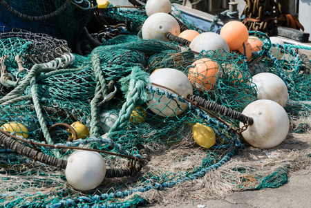 fishing net: fishing net Stock Photo