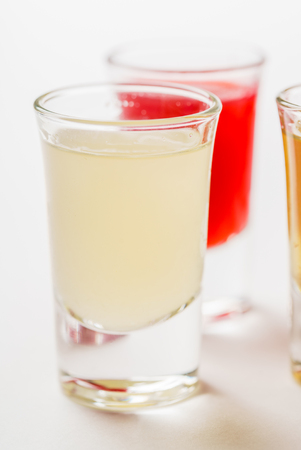 alcoholic drink: Glasses with  alcoholic drink