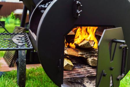 grill: barbegue grill