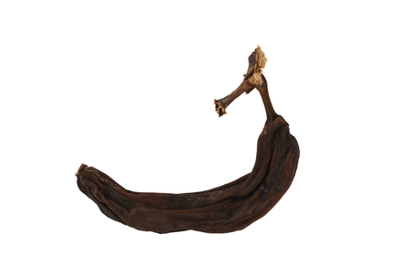 black overripe banana