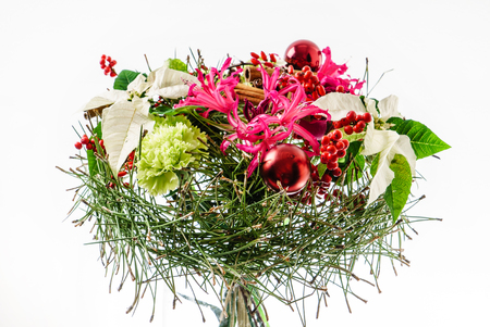winterberry: winter bouquet Stock Photo