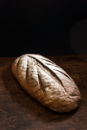 life loaf: fresh bread