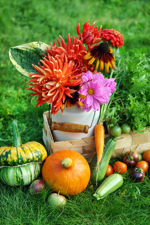 autumn arrangement: autumn arrangement