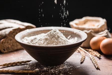 spelt: spelt flour