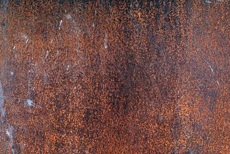 metal: rusty metal