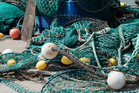 net: fishing net Stock Photo