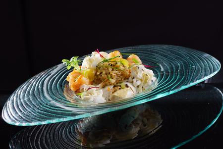 seafood rice Stock Photo