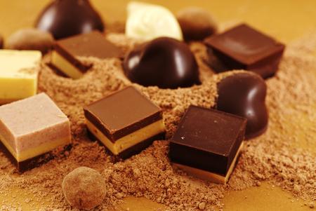 cafe bombon: Dulces de chocolate
