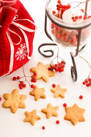 galletas de navidad: christmas cookies Foto de archivo