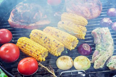 Barbecue grill concept