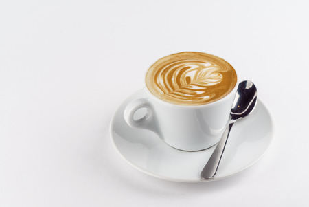 capuchino: cup of cappuccino Stock Photo