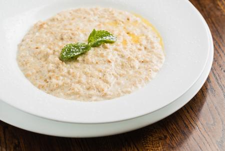 porridge: oats porridge