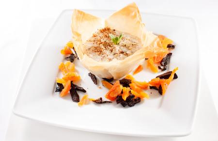 porridge: Porridge with dried fruits
