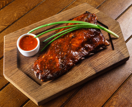 grilled ribs Stock Photo - 65029887