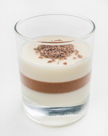 cotta: chocolate panna cotta